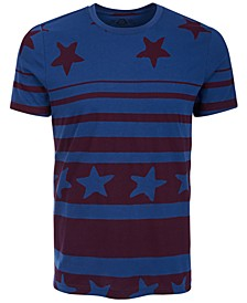 Men's Stars & Stripes T-Shirt, Created for Macy's