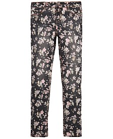 Epic Threads Big Girls Floral-Print Skinny Jeans, Created for Macy's