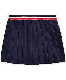 Polo Ralph Lauren Little Girls Pleated Ponté Knit Skirt