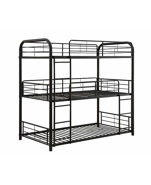 Acme Furniture Cairo Triple Twin Bunk Bed