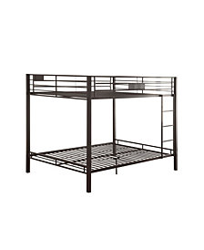 Kaleb Queen Over Queen Bunk Bed