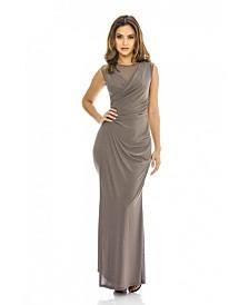 AX Paris Wrap Front Slinky Maxi Dress