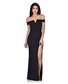 AX Paris Off the Shoulder Maxi Dress
