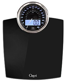 Ozeri Rev 400 lbs Bath Scale with Electro-Mechanical Display and 0.1 lbs Sensors