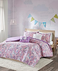 Lola 5-Pc. Full/Queen Duvet Cover Set
