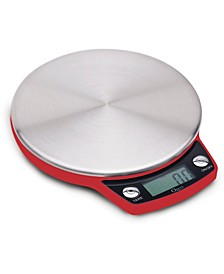 Precision Pro Stainless Steel Kitchen Scale with Oversized Weighing Platform