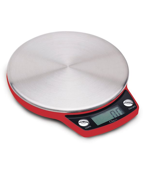 Ozeri Precision Pro Stainless Steel Kitchen Scale with Oversized Weighing Platform