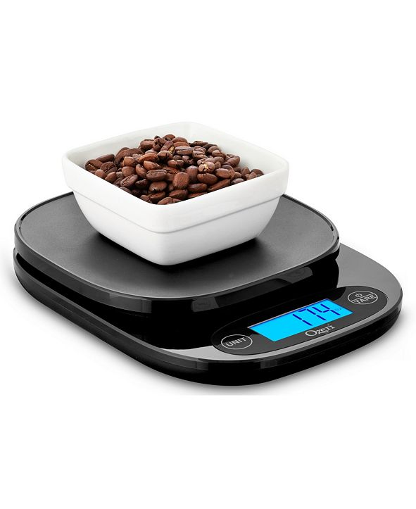 Ozeri ZK420 Garden and Kitchen Scale, with 0.5 g / 0.01 oz Weighing Technology