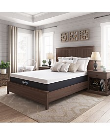 "Sleep Trends Ladan 12"" Cool Gel Memory Foam Plush Tight Top Mattresses, Quick Ship, Mattress in a Box"