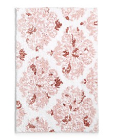 """Martha Stewart Collection Victorian Damask Cotton 20"""" x 30"""" Rug, Created for Macy's"""