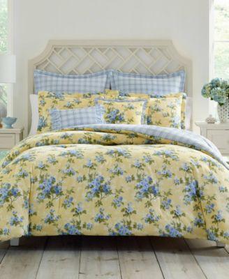Cassidy Pastel Yellow Comforter Set, Twin