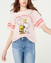 94d01f270bb1 Mighty Fine Juniors' Peanuts T-Shirt