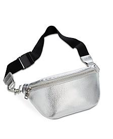 Steve Madden Metallic Pebble Belt Bag