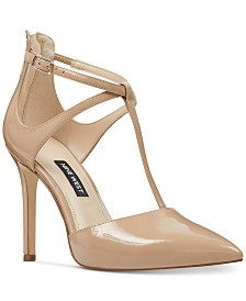 Nine West Women's Teresa T-Strap Pumps