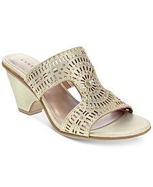Karen Scott Kendra Slide Sandals, Created for Macy's