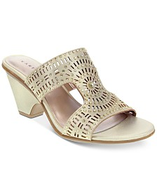 Karen Scott Kendra Slide Sandals, Created for Macy's
