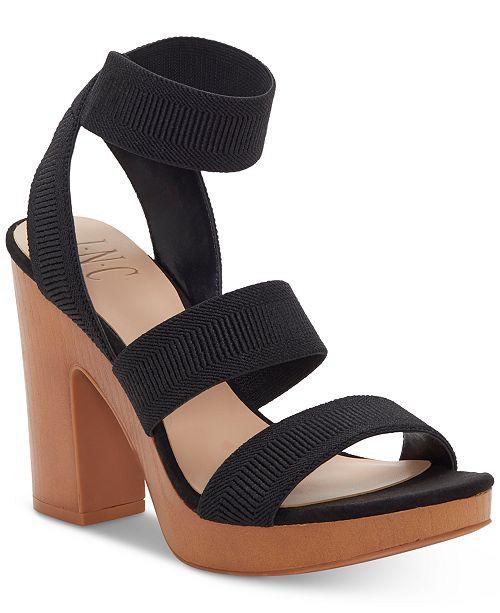 INC International Concepts INC Roesia Dress Sandals, Created for Macys