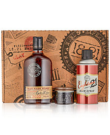 18.21 Man Made 3-Pc. Wash, Clay & Hair Spray Gift Set
