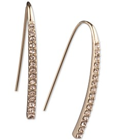 Givenchy Pavé Threader Earrings