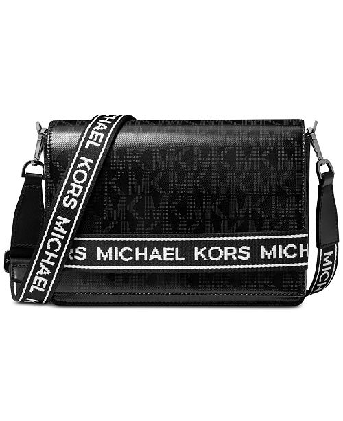 Michael Kors Bellamie Logo Crossbody Clutch