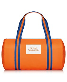 Receive a Complimentary Duffel Bag with any large spray purchase from the Calvin Klein Summer fragrance collection