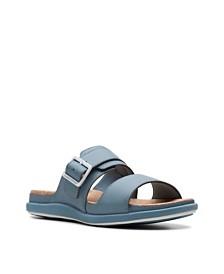 Clarks Women's Cloudsteppers Step June Tide Slide Sandals