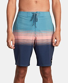 RVCA Men's Colorblocked Board Shorts