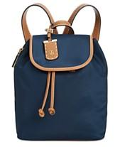 c18ab6e785 Tommy Hilfiger Julia Nylon Drawstring Backpack