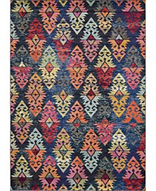CLOSEOUT! Arcata Arc1 Navy Blue 9' x 12' Area Rug