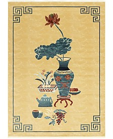 Bridgeport Home Sahil Sah1 Tan 9' x 12' Area Rug