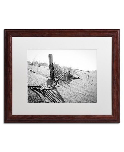 "Trademark Global PIPA Fine Art 'High Key Dunes' Matted Framed Art - 16"" x 20"""