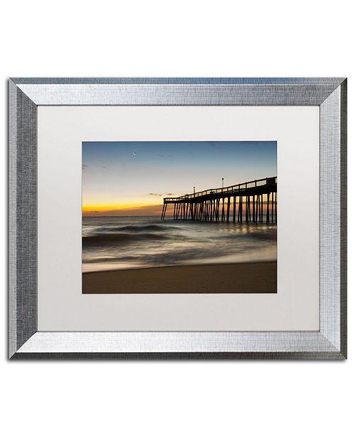 """Trademark Global PIPA Fine Art 'Motion of the Ocean' Matted Framed Art - 16"""" x 20"""""""
