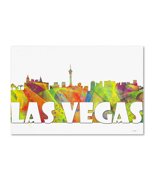Macys Furniture Las Vegas: Trademark Global Marlene Watson 'Las Vegas Nevada Skyline