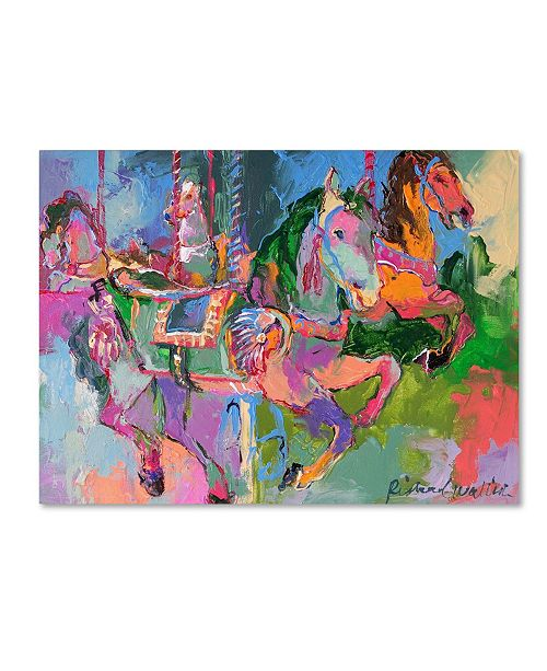 "Trademark Global Richard Wallich 'Artcar 3' Canvas Art - 18"" x 24"""
