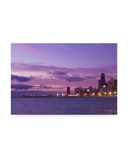 "Trademark Global NjR Photos 'Vivid Morning' Canvas Art - 16"" x 24"""