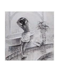 "Steve Henderson 'Bathed In Light' Canvas Art - 18"" x 18"""