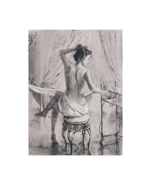 "Trademark Global Steve Henderson 'After The Bath' Canvas Art - 18"" x 24"""