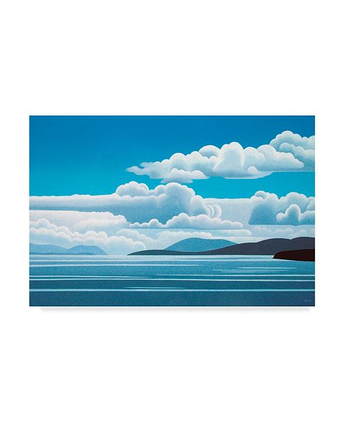 "Trademark Global Ron Parker 'Blue Day' Canvas Art - 16"" x 24"""