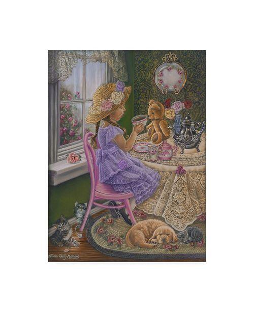 """Trademark Global Tricia Reilly-Matthews 'Heart To Heart' Canvas Art - 18"""" x 24"""""""