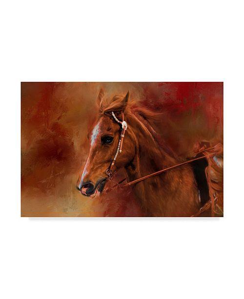 "Trademark Global Jai Johnson 'Riding The Autumn Breeze' Canvas Art - 24"" x 16"""