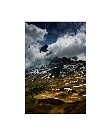 "Istvan Nagy 'The North Face Of Eiger' Canvas Art - 16"" x 24"""
