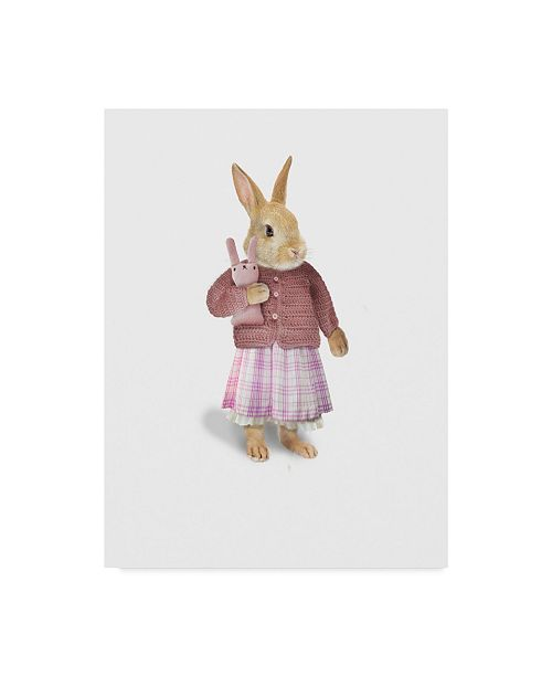 "Trademark Global J Hovenstine Studios 'Cotton Tail' Canvas Art - 18"" x 24"""