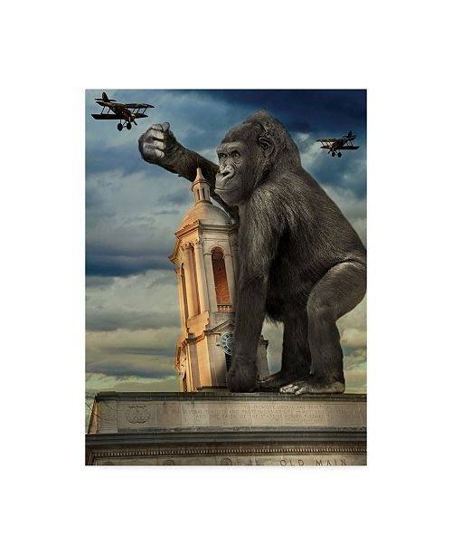 "Trademark Global J Hovenstine Studios 'Kong' Canvas Art - 18"" x 24"""
