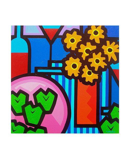 "Trademark Global John Nolan 'Still Life With Seven Apples' Canvas Art - 24"" x 24"""