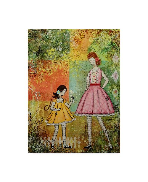 """Trademark Global Janelle Nichol 'In The Springtime' Canvas Art - 14"""" x 19"""""""