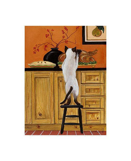 "Trademark Global Jan Panico 'Time To Carve The Bird' Canvas Art - 18"" x 24"""