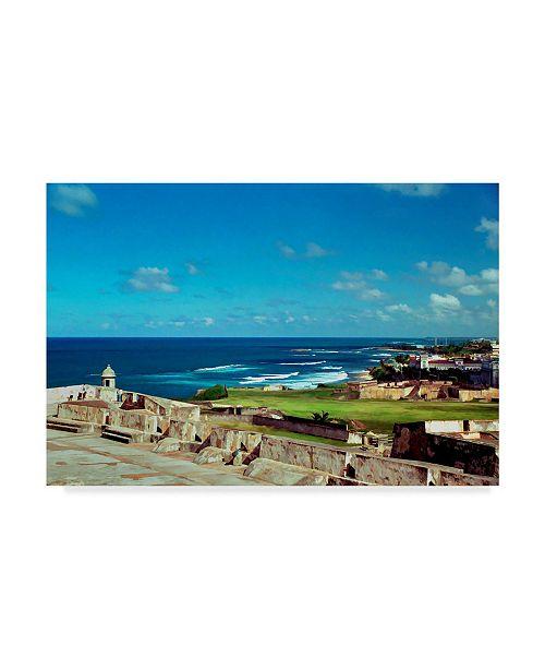 "Trademark Global J.D. Mcfarlan 'San Juan 2' Canvas Art - 24"" x 16"""