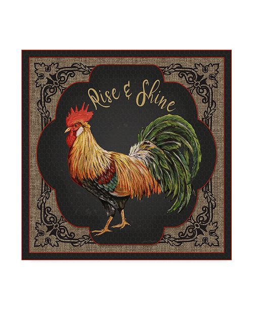 "Trademark Global Jean Plout 'Country Kitchen 2' Canvas Art - 14"" x 14"""