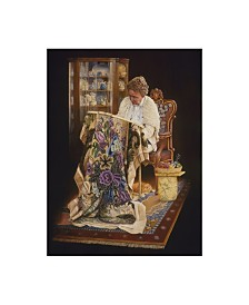 """Les Ray 'The Wedding Gift' Canvas Art - 14"""" x 19"""""""