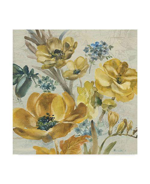 """Trademark Global Marietta Cohen Art And Design 'Wildflowers Bouquet 2' Canvas Art - 18"""" x 18"""""""